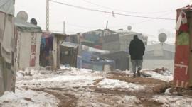 Refugee settlement in Lebanon