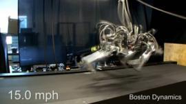 One of Boston Dynamics' robots