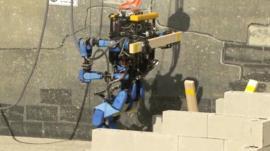 Robot climbing stairs