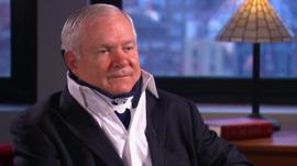 Ex-US defence secretary Robert Gates