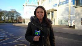 Leah at Hull City