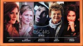 Best actress nominees