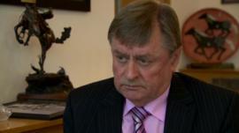 Mayor of Newtownabbey Frazer Agnew