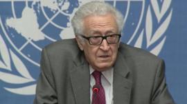 UN mediator Lakhdar Brahimi