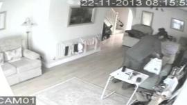 The CCTV footage