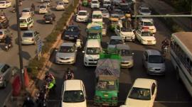Congestion in Delhi