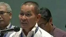 Malaysia Airlines chief executive Ahmad Jauhari Yahya