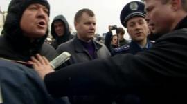 Clashes in Sevastopol