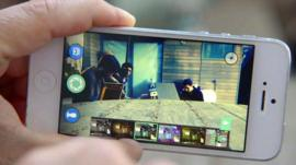 A smartphone running the Shoto app