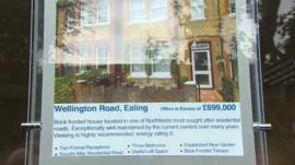 estate agent window