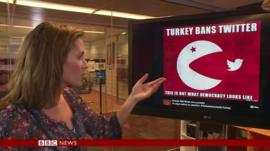 Anne-Marie Tomchak reporting on Turkey