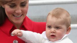 Kids in New Zealand are excited to see Prince George