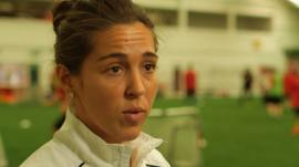 How football helped homeless Fara Williams