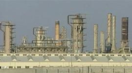 Library pictures of the Baiji oil refinery