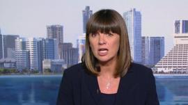 Al-Jazeera reporter Sue Turton