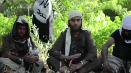 British recruits in an Isis video