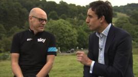 Sir Dave Brailsford talks to David Bond
