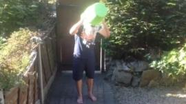 Cold water challenge, water-tipping, deaf-drenching