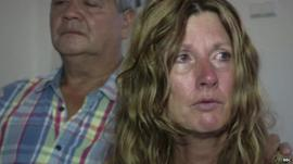 Parents of Netherlands victim of Malaysia MH17 Plane tragedy