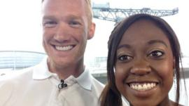 Greg Rutherford and Ayshah