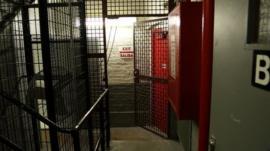 Photo of a Bronx, New York, jail