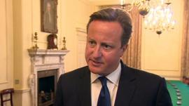 Prime Minister David Cameron condemns killing of US journalist James Foley