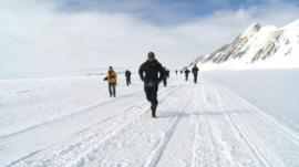 Ice marathon