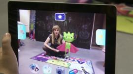 Jenny and a virtual pet