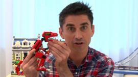 Lego designer Jamie Berard