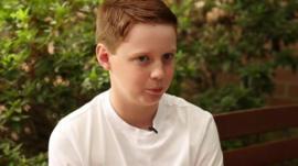 12 year old Cameron Orton