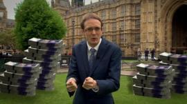 Chris Mason at Westminster