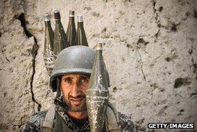 Afghan gunner, Pech Valley, 2012
