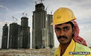 Construction worker from Pakistan, in Dubai, 2006
