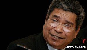 East Timor's Bishop Carlos Belo