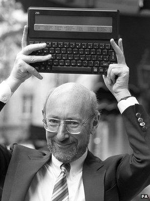 Sir Clive Sinclair and Z88