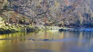 The River Neath near Pontneddfechan