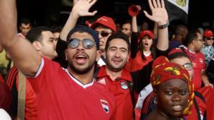 Quelque 1 500 fans ont atterri à Libreville pour assister à la finale. Ils étaient d'humeur joyeuse et festive et se sont mêlés aux habitants.