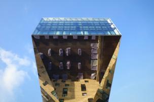 Osthafen en Berlín, Alemania