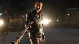 Negan in The Walking Dead