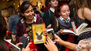 Fans buying Harry Potter and the Cursed Child