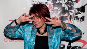Rezillos lead singer Faye Fife joined the line-up for their closing number at the gig at the Traverse in Edinburgh last night.