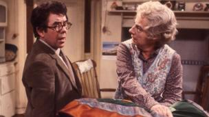 In the 1980s, Corbett starred in the sitcom Sorry! as long-suffering librarian Timothy Lumsden, who lived at home with his domineering mother Phyllis