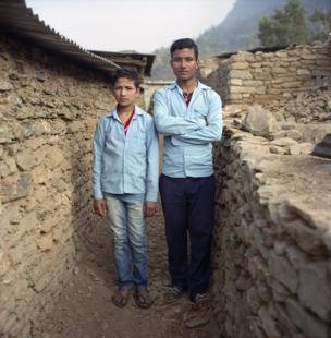 Ranjit Bishokarma and Rakesh Lamicchane