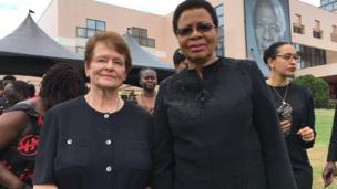 Elders Graca Machel and Gro Brundtland