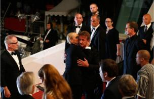 Sean Penn və Charlize Theron