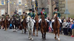 Hawick common riding