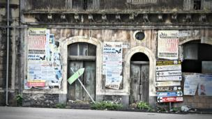 Posters in Sicily