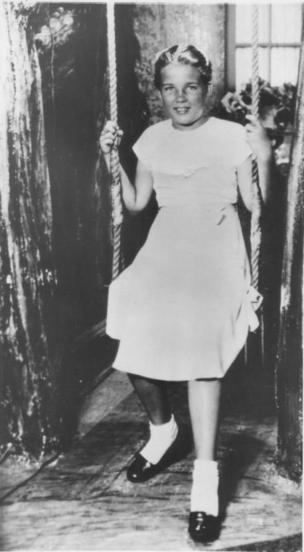 Фотография Салли Хорнер, обнаруженная в пансионе в Атлантик-Сити в августе 1948 года, через шесть недель после ее исчезновения