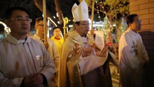 天主教北京教区主教李山