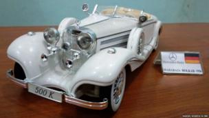 1936 का मर्सिडीज कंपनी का वो मॉडल जिसे कंपनी ने खास तौर पर होल्कर के महाराजा के लिए बनाया था.